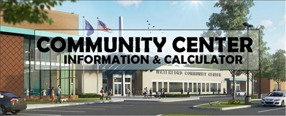 Community Center Information & Calculator