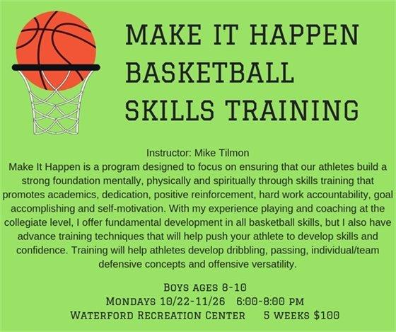 Make It Happen Basketball