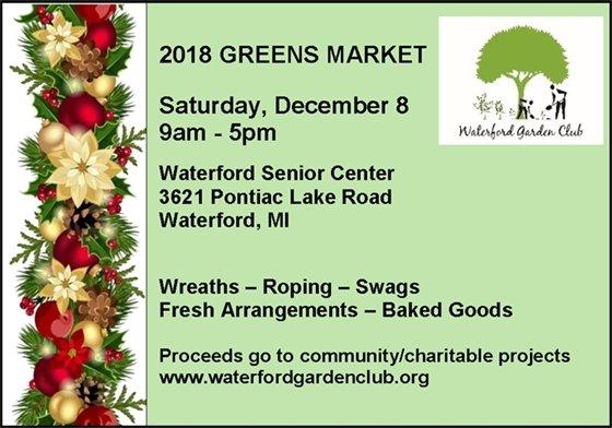 2018 greens market