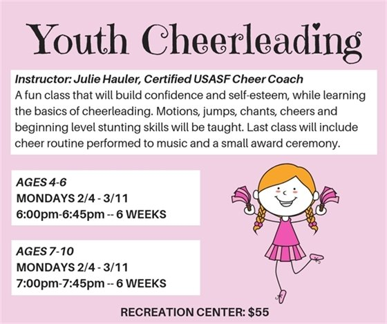 Youth Cheerleading