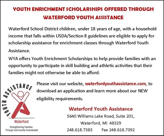 Youth Enrichment Scholarships