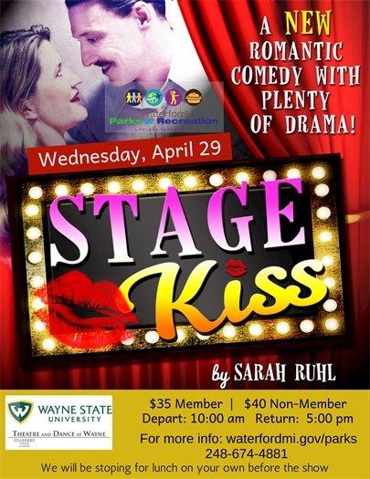 WSU  Stage Kiss