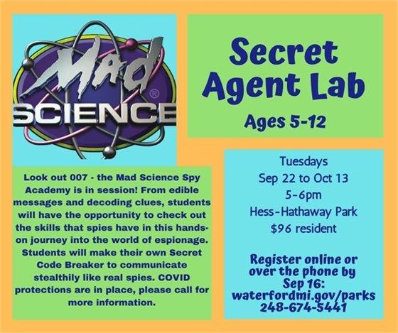 Secret Agent Lab