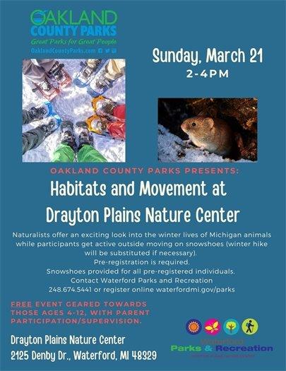 Habitats and Movement
