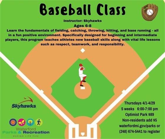 Baseball Class