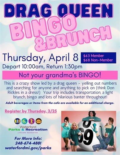 Drag Queen Bingo & Brunch