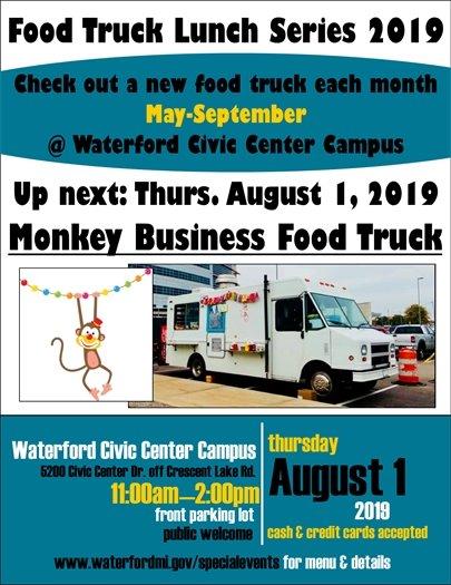 Monkey Business Food Truck