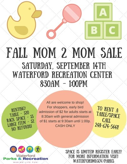 Fall Mom 2 Mom Sale