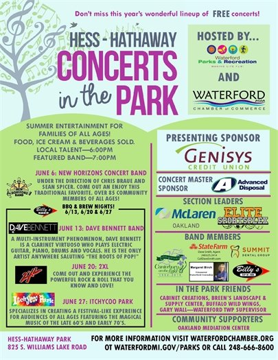 Hess-Hathaway Concerts in the Park