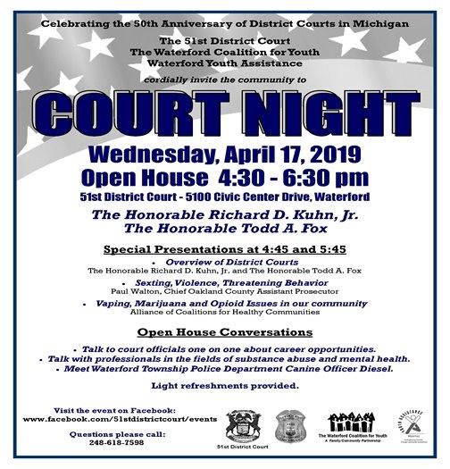Court Night 2019