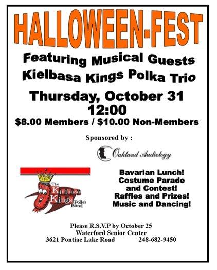 Senior Center Halloween