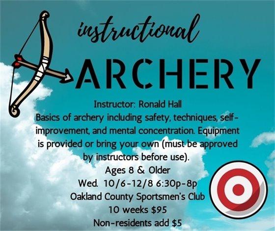 Instructional Archery