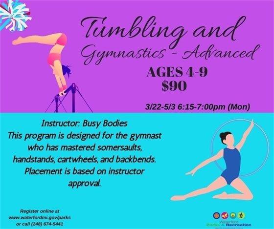 Advanced Tumbling & Gymnastics