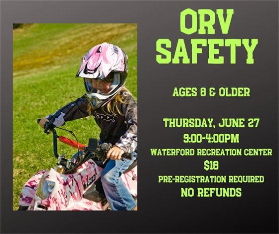 ORV Safety
