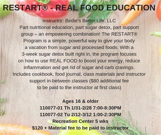 Restart Real Food Education