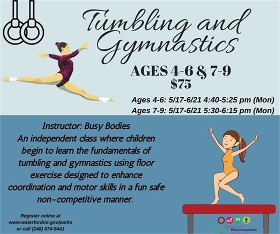Tumbling Gymnastics