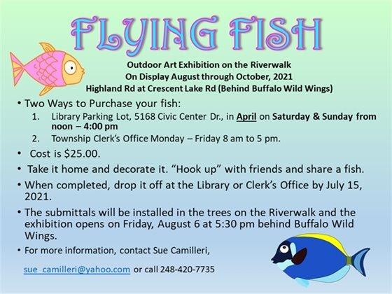 Flying Fish Outdoor Art Exhibition