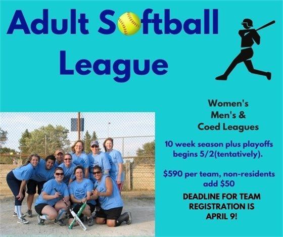 Adult Softball League