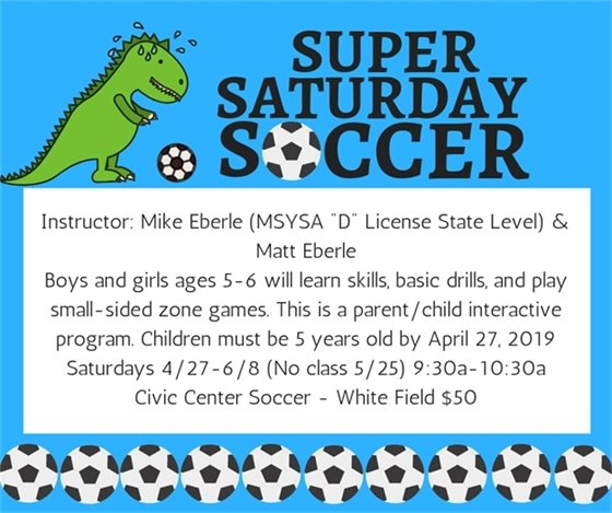 Super Saturday Soccer