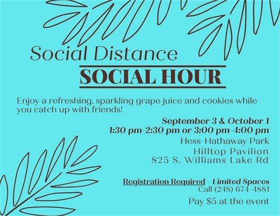Social Distance Social Hour