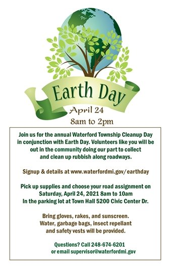 Earth Day Township Cleanup