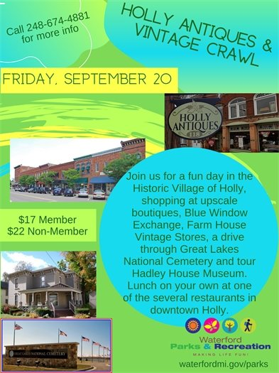 Holly Antiques Crawl