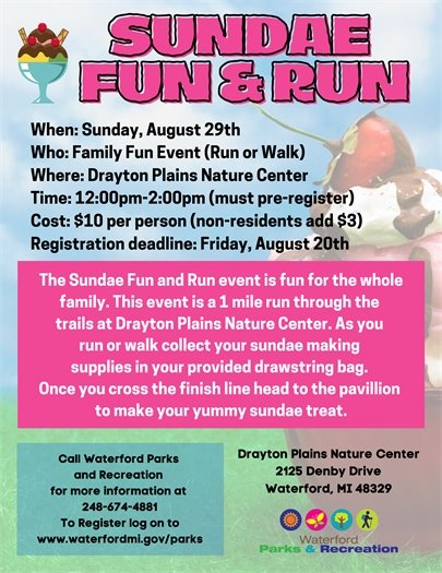 Sundae Fun & Run