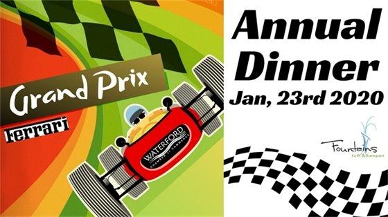 annual dinner grand prix
