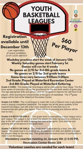 Youth Basketball Leagues