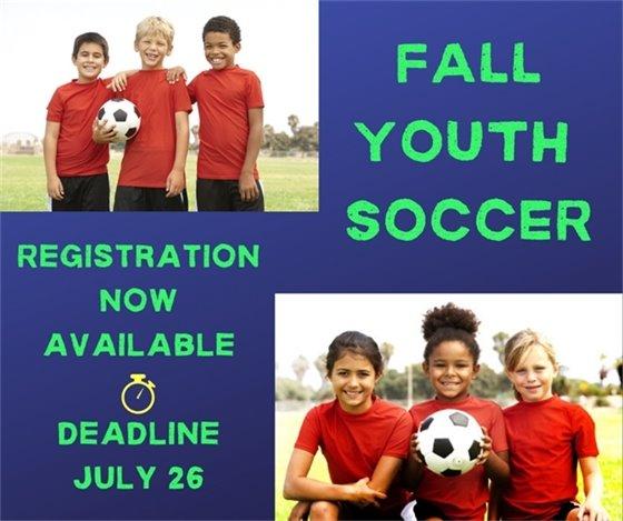 Fall Youth Soccer