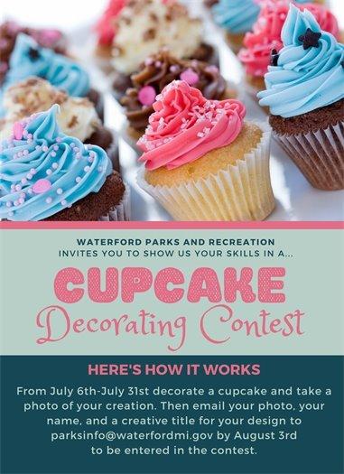 Cupcake Decorating Contest