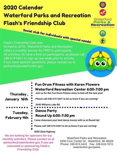 Flash's Friendship Club