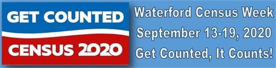 Get counted Waterford Census Week