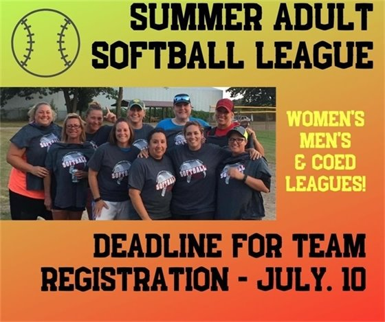 Adult Summer Softball League