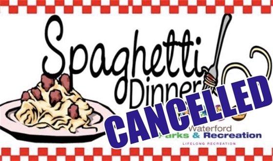 Spaghetti Dinner Cancelle
