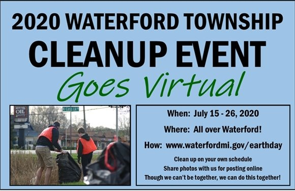 Cleanup Event Goes Virtual