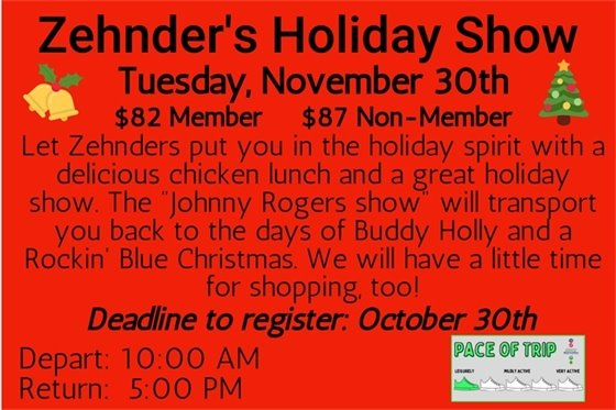 Zehnder's Holiday Show
