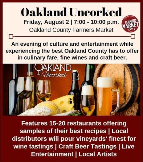 Oakland Uncorked