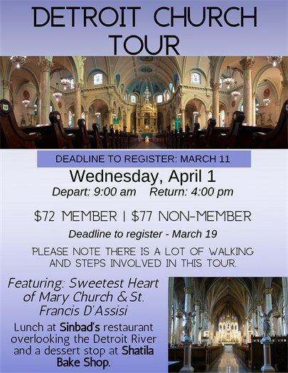Detroit Church Tour