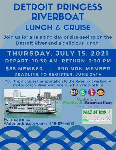 Detroit Princess Riverboat Cruise