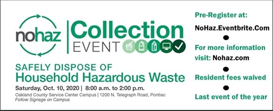 No Haz Collection Event