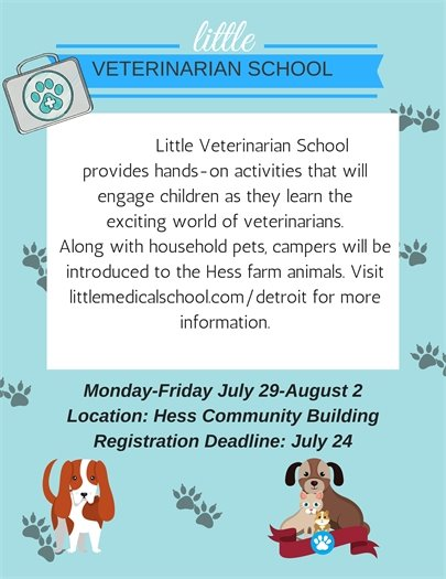 Little Veterinarian School Camp
