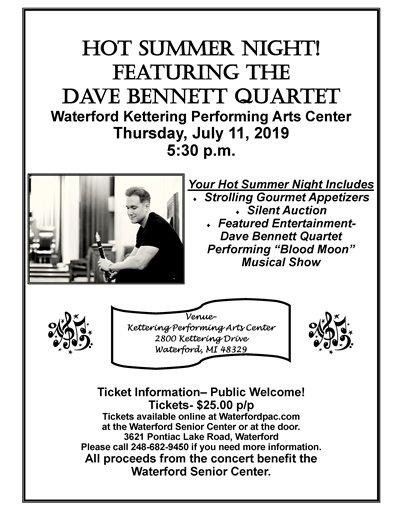 Dave Bennett Concert