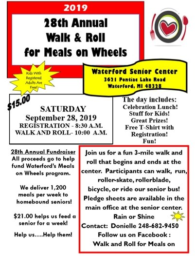 Walk & Roll for Meals on Wheels