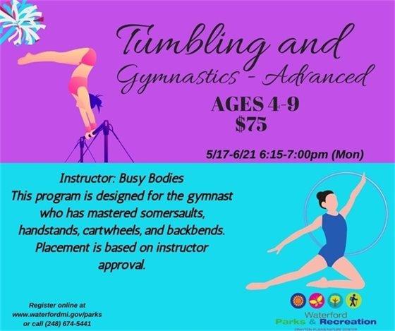 Advanced Tumbling Gymnastics