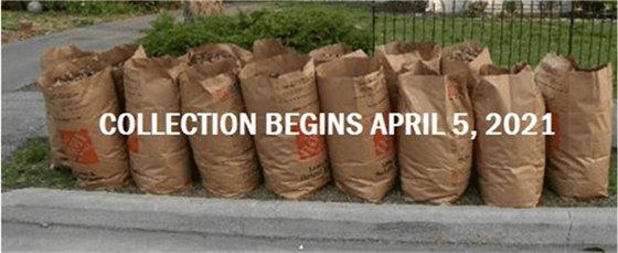 Yard Waste Collection Begins April 5