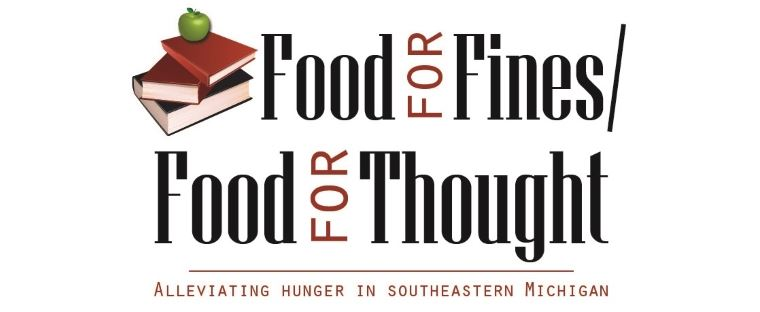 Food for Fines - Food for Thought Logo