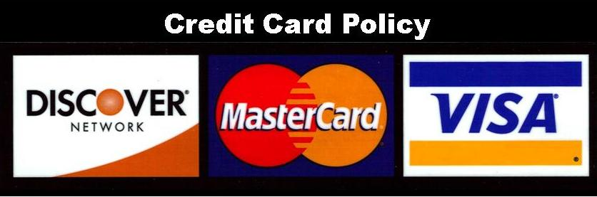 Credit Card Policy Icon for Web