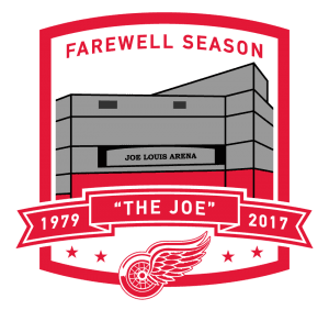 Red Wings Farewell Logo