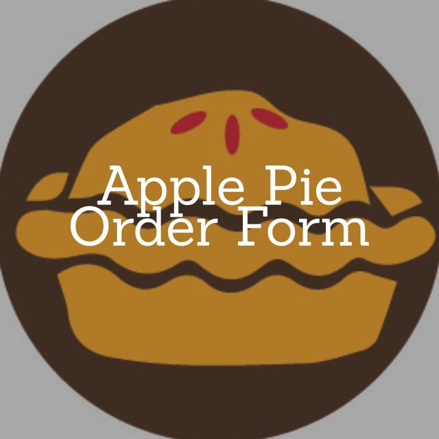 Apple Pie button
